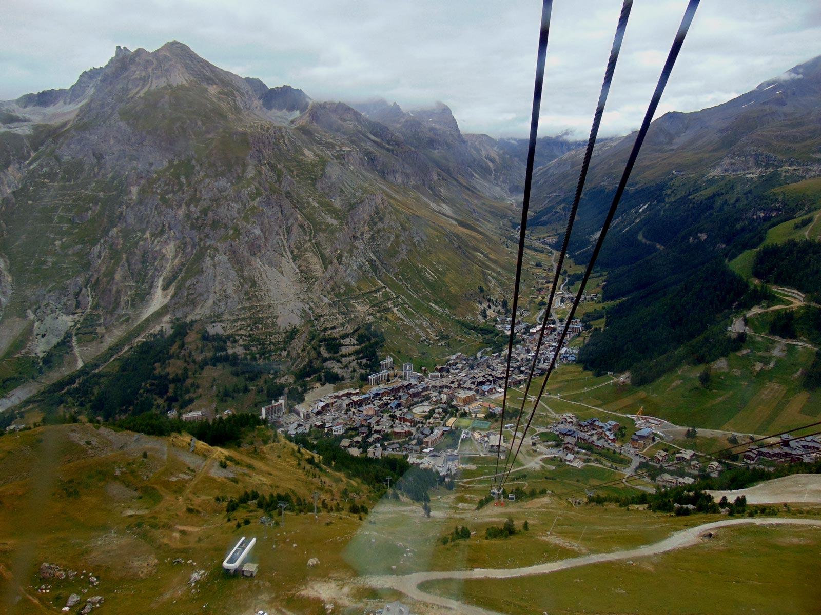 Обои Vanoise, дома, альпы, деревня, france, вануаз. Города foto 11